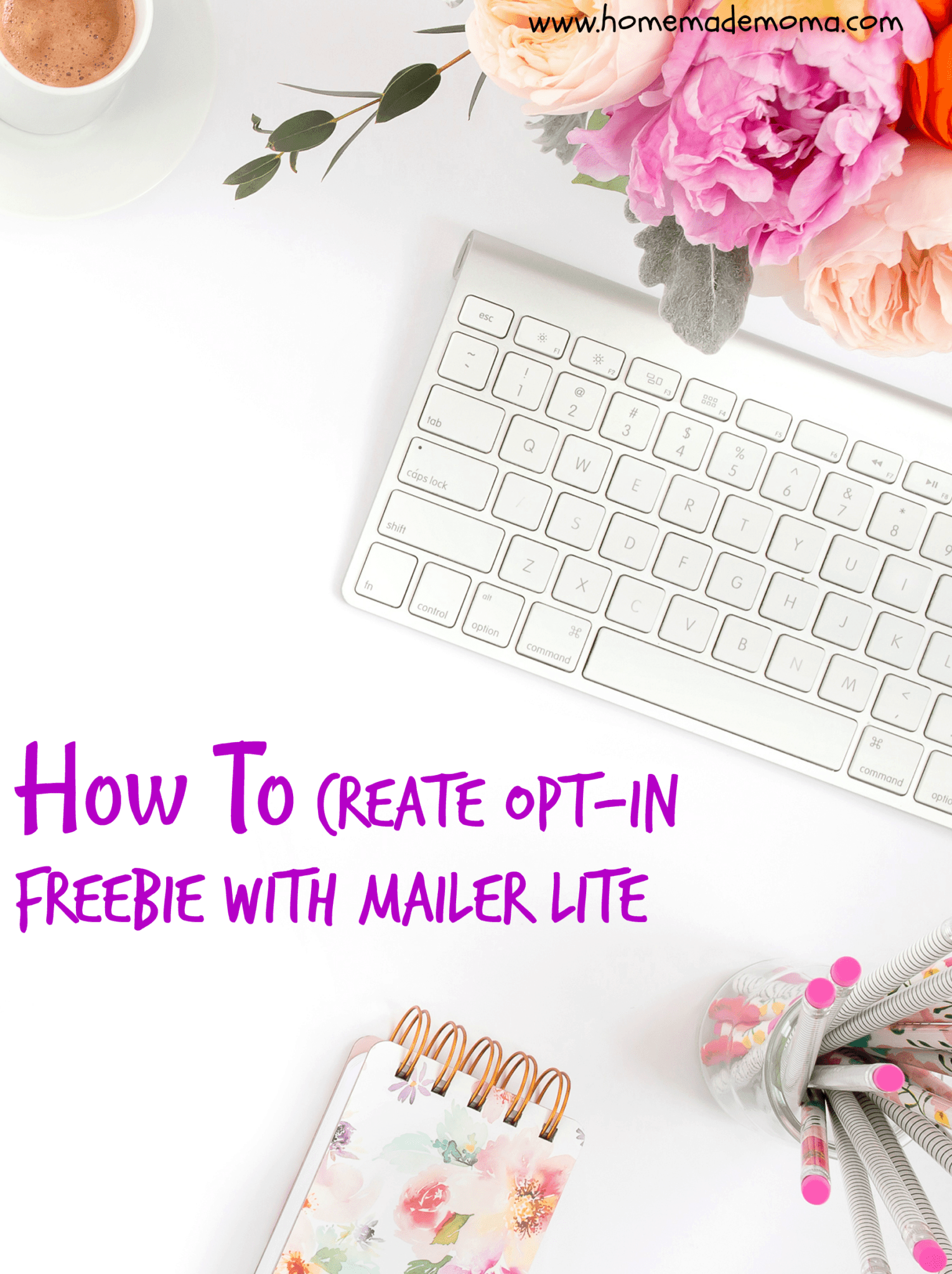 How to create opt-in freebie with mailer lite