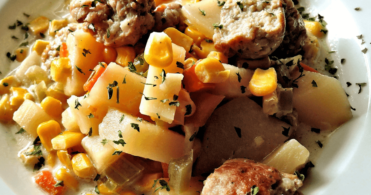 Sausage and potato casserole