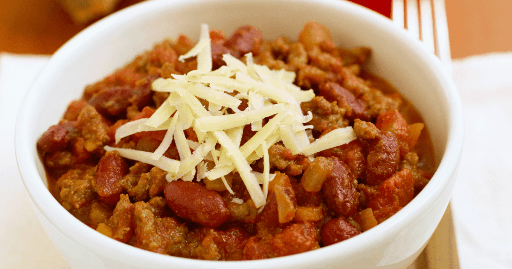 Chili recipe slow cooker