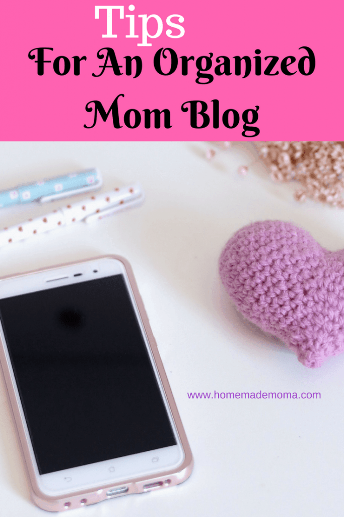 Organized mom blog