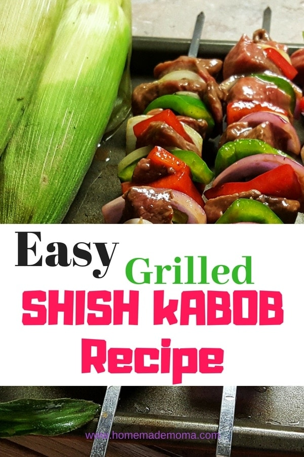 Easy Grilled Shish Kabob Receipe