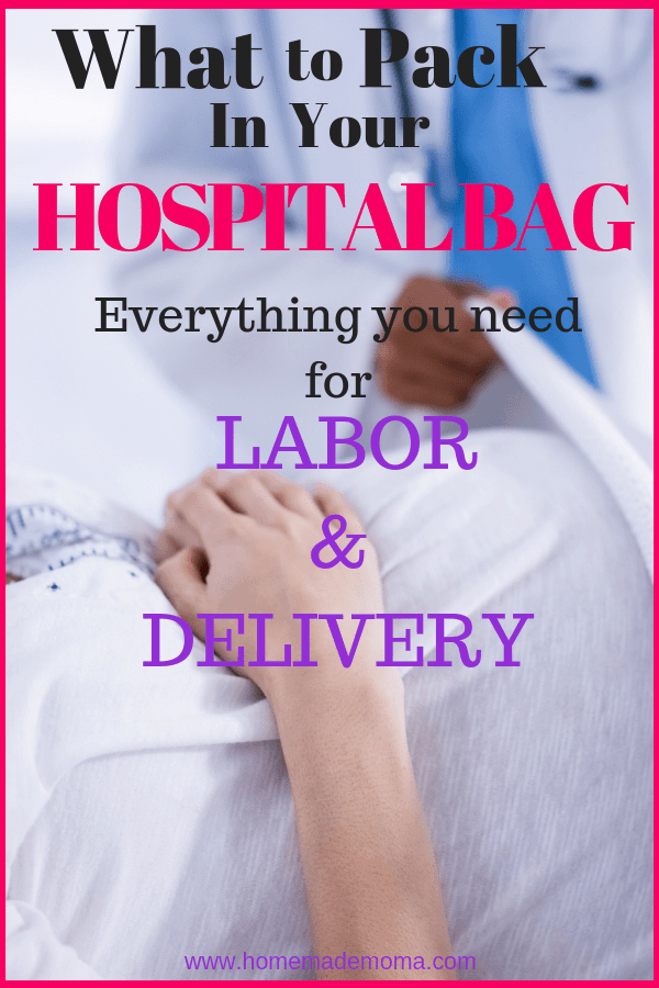 What To Pack In Hospital Bag For Mom And Baby
