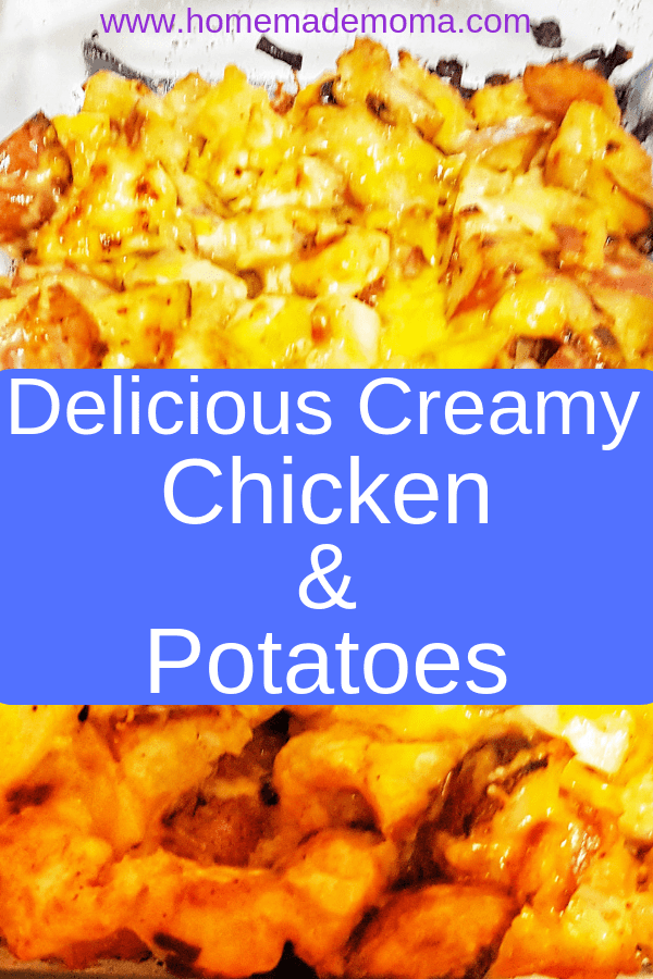 Chicken and Potato Casserole