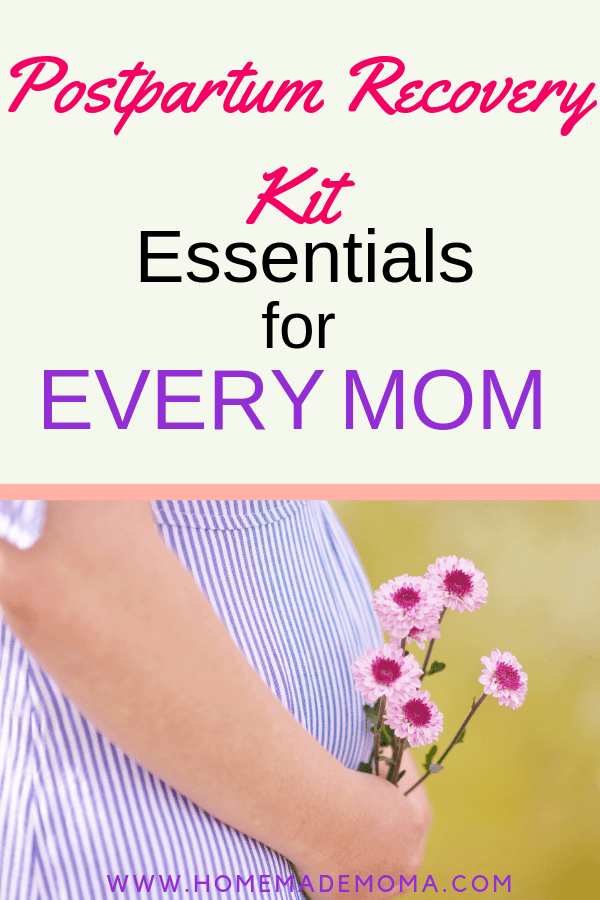 Postpartum essentials