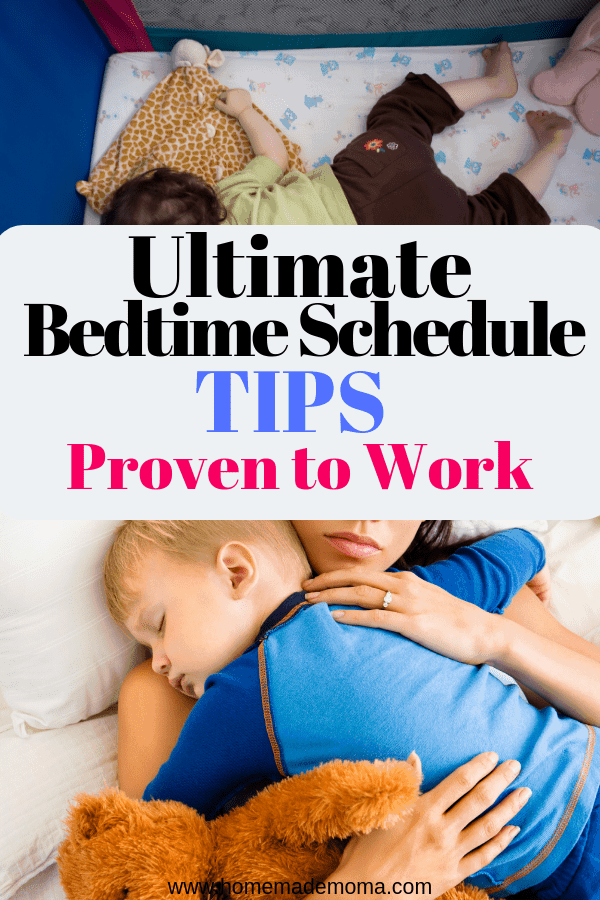 3 Year old bedtime routine