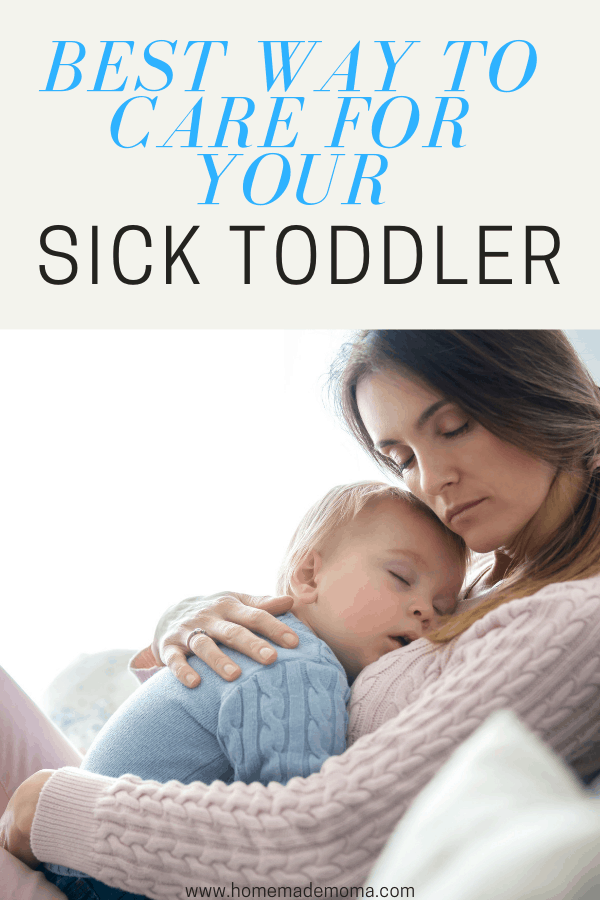 Sick toddler