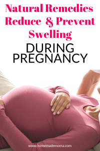 Swelling during pregnancy, how to prevent it