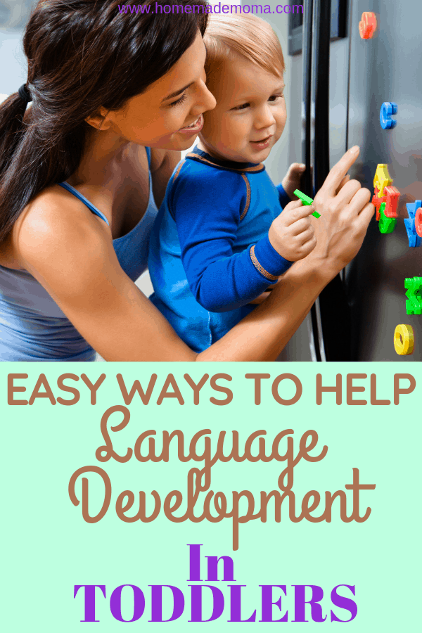 Helping your toddler with language developement