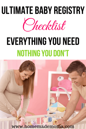 Items to put on your baby registry
