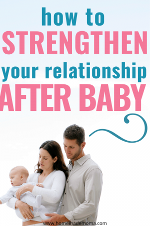 strengthening marriage after baby