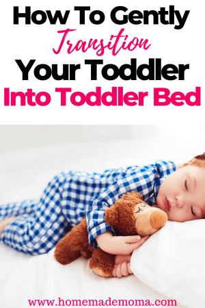 Transitioning toddler to toddler bed